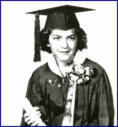 Stephanie Kwolek eighth grade graduation picture